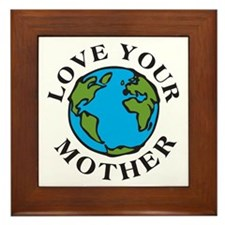 Love Your Mother Framed Tile