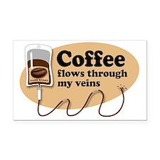 coffeeVein Rectangle Car Magnet