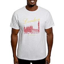LondonEngland_wmn_plusscoop_BigBen_Y T-Shirt