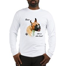 Boxer Breed Long Sleeve T-Shirt