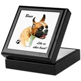 Boxer Breed Keepsake Box