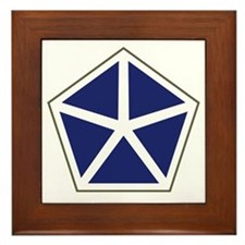 V Corps Framed Tile