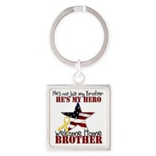 T1_Brother Square Keychain