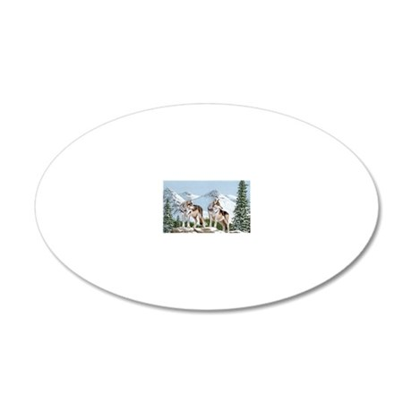 notes together-for-life 20x12 Oval Wall Decal