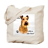 Irish Terrier Breed Tote Bag