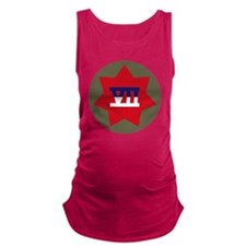 VII Corps Maternity Tank Top