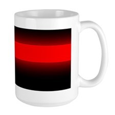 thin red line bumper sticker 4 Mug