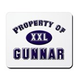 Property of gunnar Mousepad