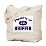 Property of griffin Tote Bag