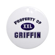 Property of griffin Ornament (Round)