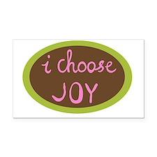 I Choose Joy - Women Rectangle Car Magnet