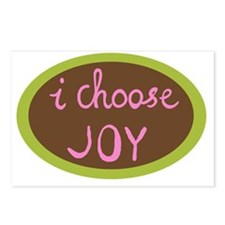I Choose Joy - Women Postcards (Package of 8)