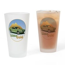 LimeGold-C10trans Drinking Glass