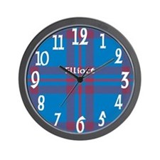 Elliott Clan Wall Clock