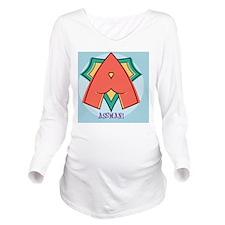 assman-BUT Long Sleeve Maternity T-Shirt