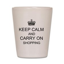 CALMSHOPPING TOTE DESIGN Shot Glass