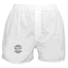Personalized Mr and Mrs Boxer Shorts