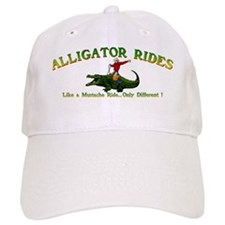 ALLIGATOR RIDES_5x2_apparel Baseball Cap