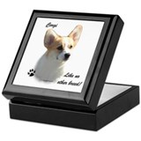 Corgi Breed Keepsake Box