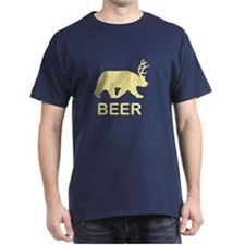 Beer Bear Deer T-Shirt