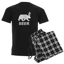 Beer Bear Deer Pajamas