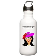 funny encouragement Water Bottle