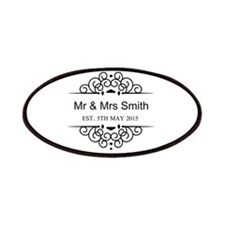 Custom Couples Name and wedding date Patches