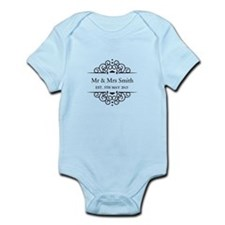 Custom Couples Name and wedding date Body Suit