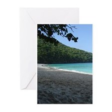 Unique The caribbean sea Greeting Cards (Pk of 10)