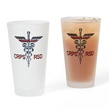Medical Symbol - CRPS RSD Medical A Drinking Glass