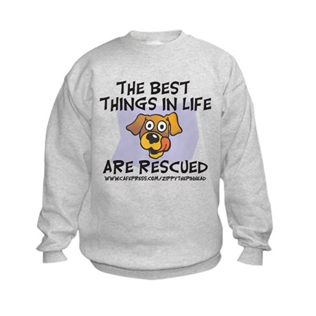 Rescued Kids Sweatshirt