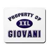 Property of giovani Mousepad