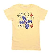 little miss free2 Girl's Tee