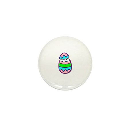 Hatching Chick Mini Button
