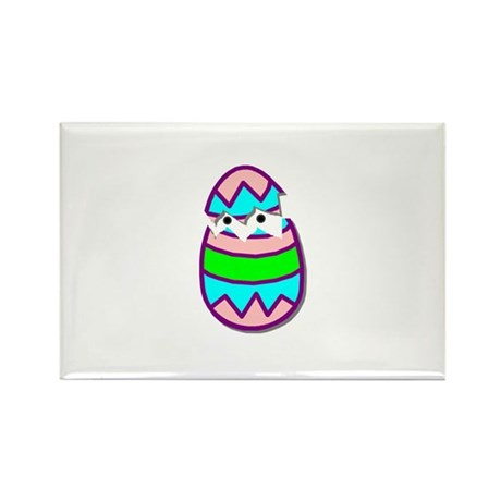 Hatching Chick Rectangle Magnet