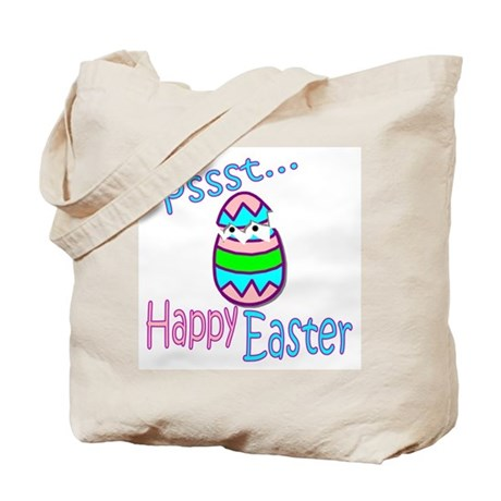 Happy Easter Chick Tote Bag