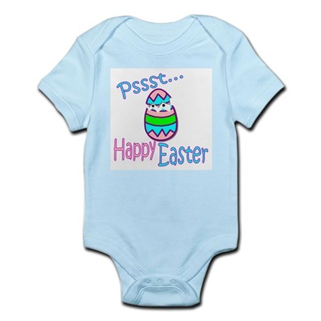 Happy Easter Chick Infant Bodysuit