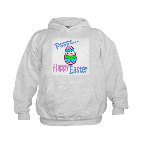 Happy Easter Chick Kids Hoodie