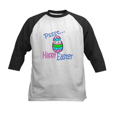 Happy Easter Chick Kids Baseball Jersey