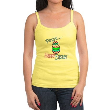 Happy Easter Chick Jr. Spaghetti Tank