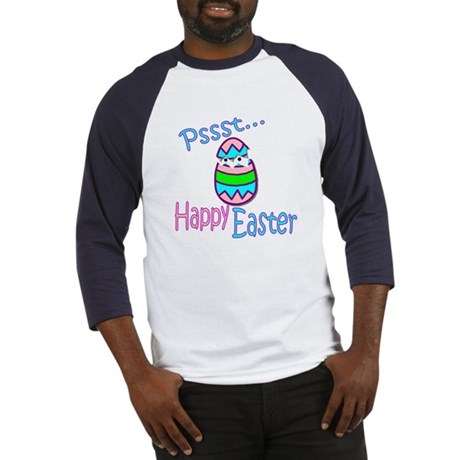 Happy Easter Chick Baseball Jersey