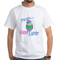Happy Easter Chick White T-Shirt
