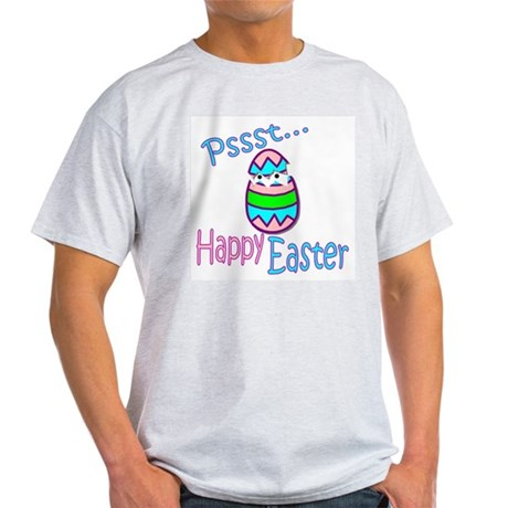 Happy Easter Chick Ash Grey T-Shirt