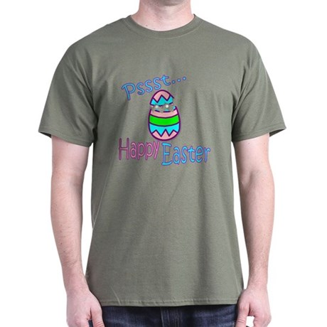 Happy Easter Chick Dark T-Shirt