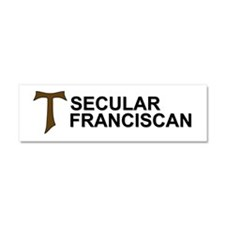 Secular Franciscan Car Magnet 10 x 3