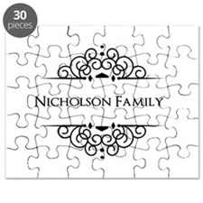 Personalized family name Puzzle