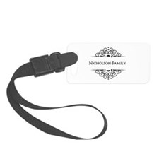 Personalized family name Luggage Tag