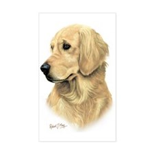 Golden Retriever 3 Decal