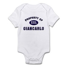 Property of giancarlo Infant Bodysuit