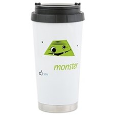 dulcimonsterBlack Ceramic Travel Mug